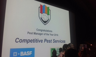 , 2016 Australian Pest Manager of the Year